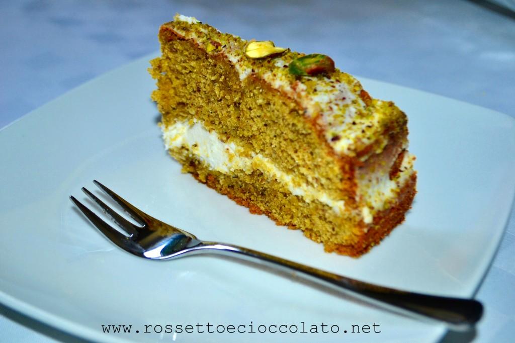 torta pistacchio e ricotta