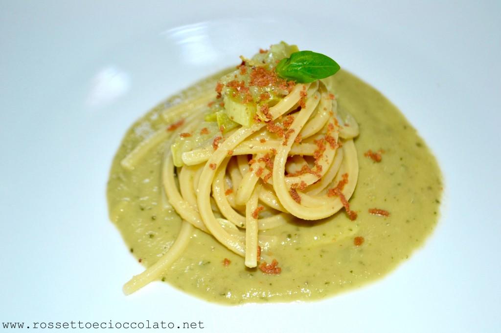 spaghetti bottarga zucchine