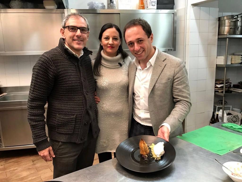 Con Fabrizio Natoli e Francesco Rella