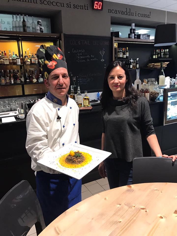 Con lo chef Franco Sollima