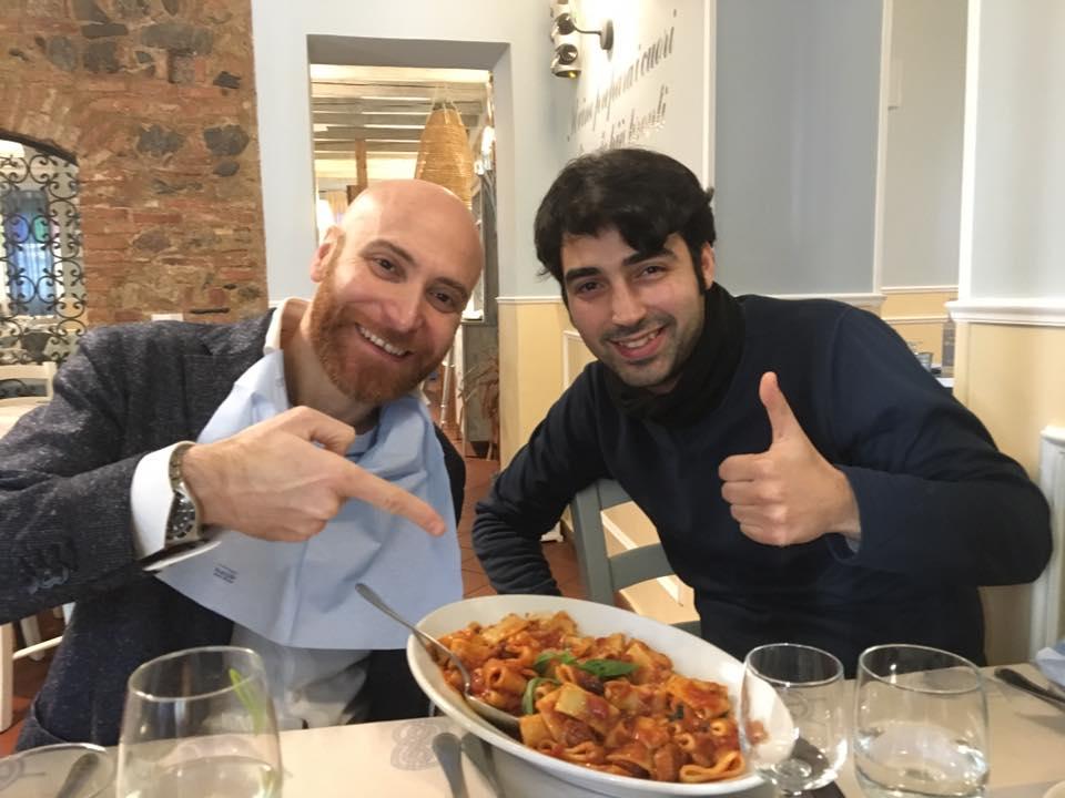 Beppe Amato e Antonio Grasso