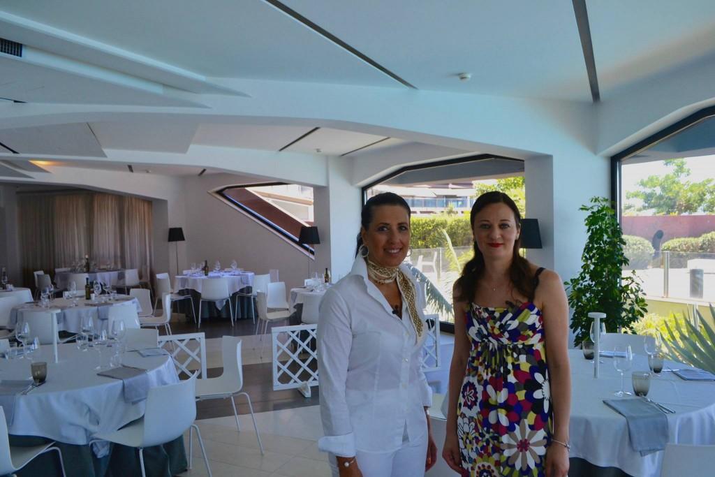 Con la titolare Daniela Lucchesi