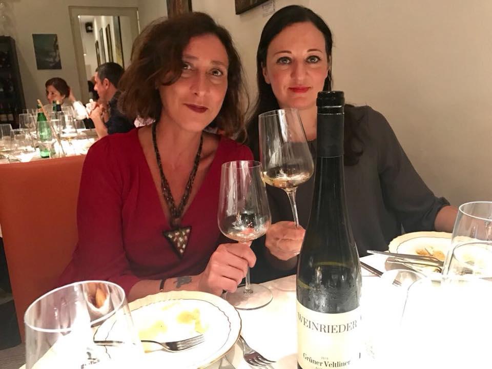 Con Angela Mondello