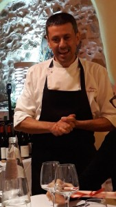 Lo chef Franco Agliolo