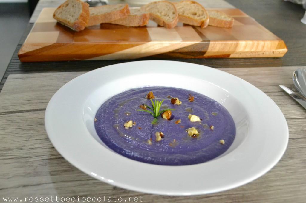 zuppa cavolo viola