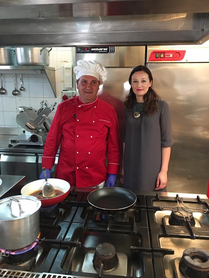 Con lo chef Antonio Andreacchio