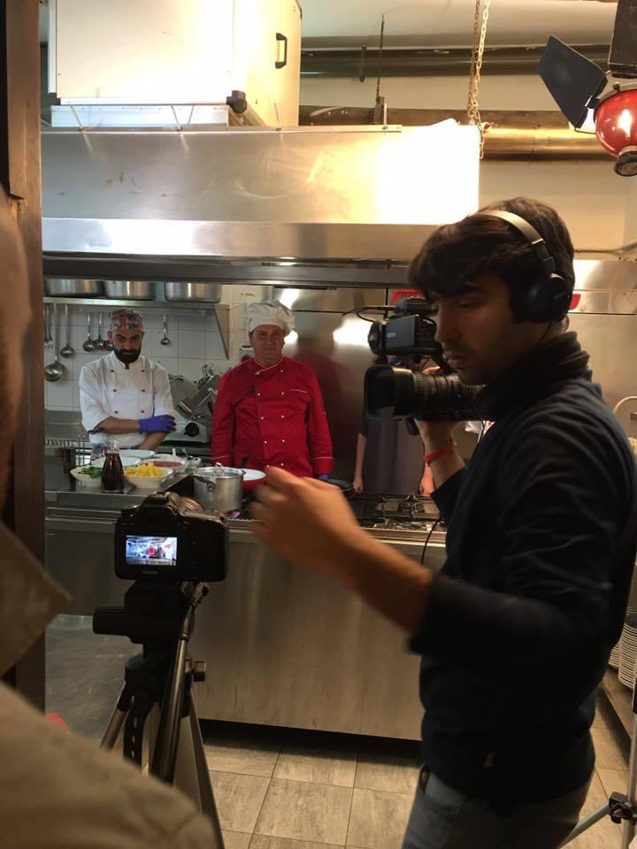 """Antonio Grasso #PVK durante le riprese de """"La Ricetta in tour"""""""