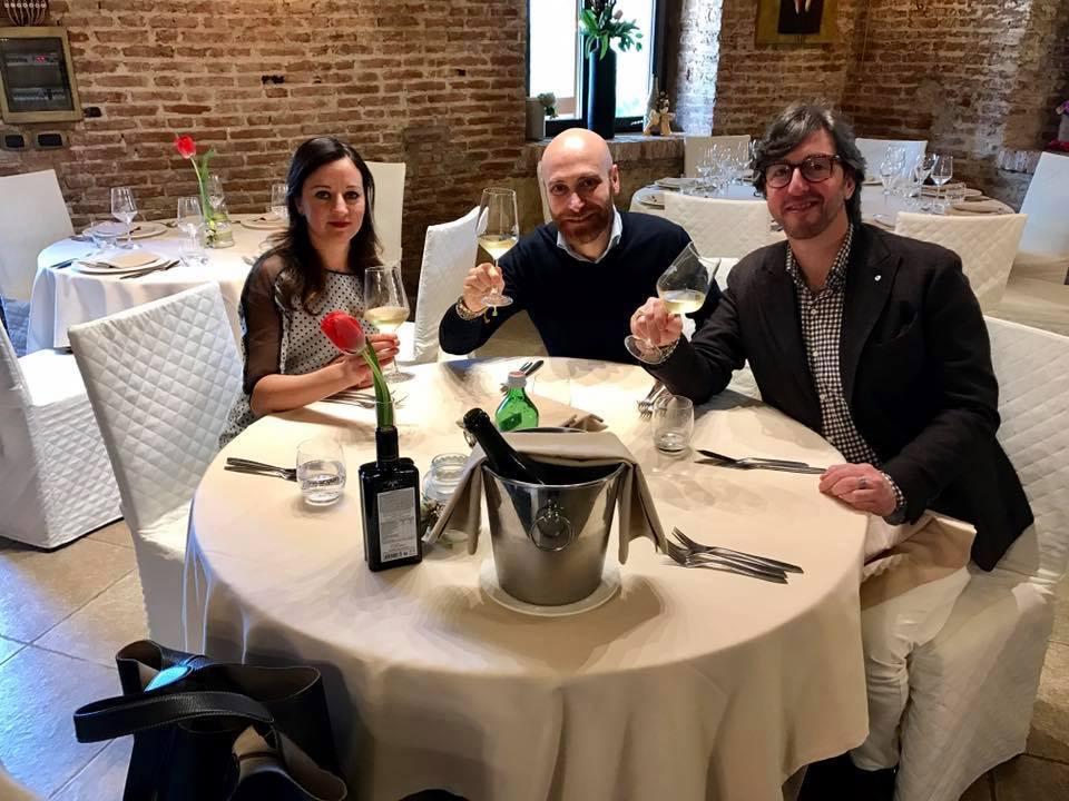 Con Beppe Amato e Mario Valveri