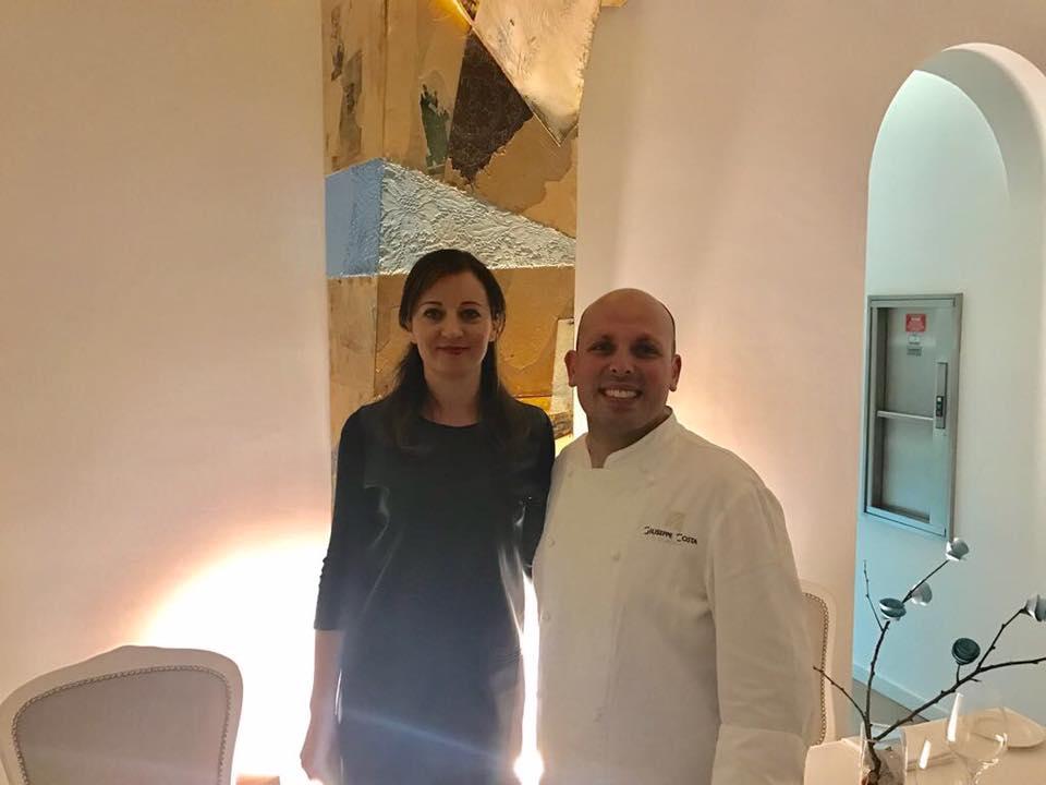 Con lo chef Giuseppe Costa