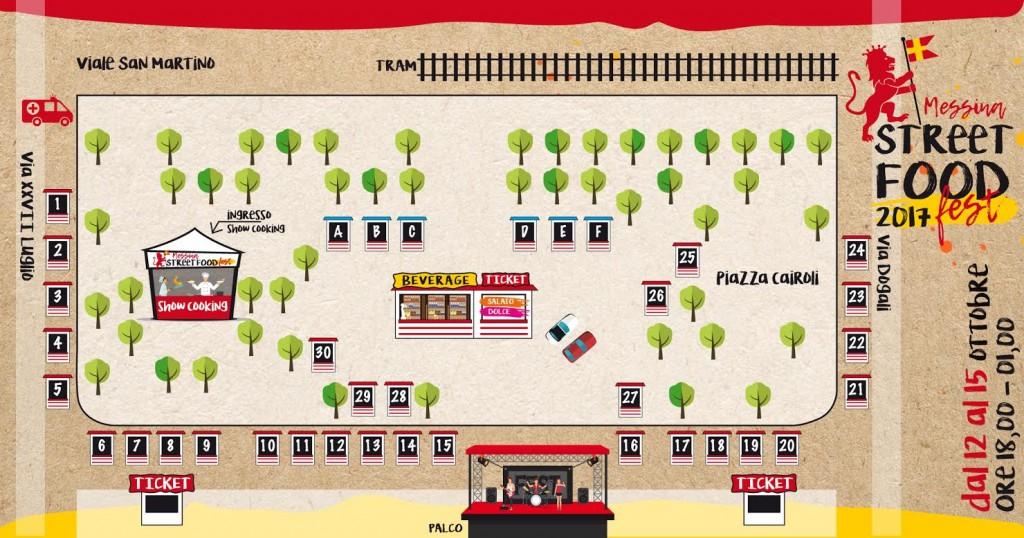 mappa messina street food fest
