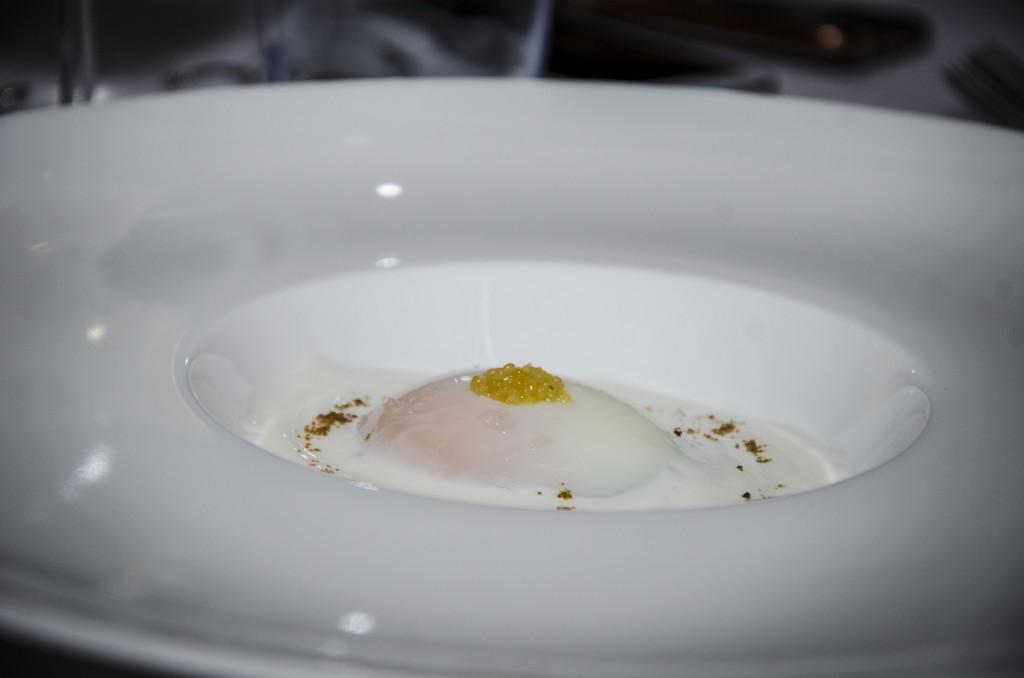 Uovo cuturro e ricotta
